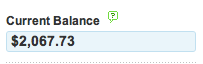 The last time my balance was this high I at least got a complimentary purse with the anxiety.