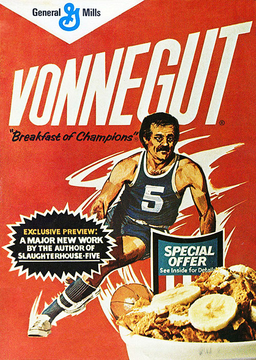 """nevver :     """"Of course it is exhausting, having to reason all the time in a universe which wasn't meant to be reasonable.""""  — Kurt Vonnegut,   Breakfast of Champions"""