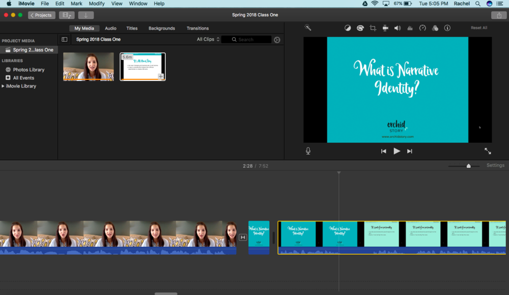 Behind the scenes iMovie.png