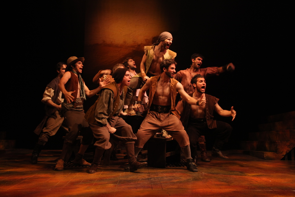 Man of La Mancha. Connecticut Repertory Theatre. Lighting design.