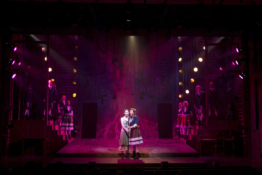Spring Awakening. Connecticut Repertory Theatre. Lighting design.