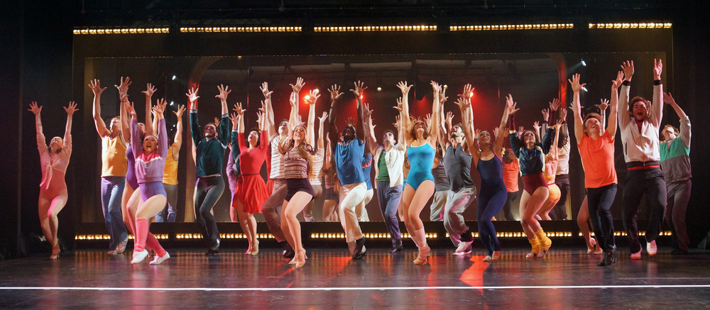 A Chorus Line. Connecticut Repertory Theatre. Lighting design.