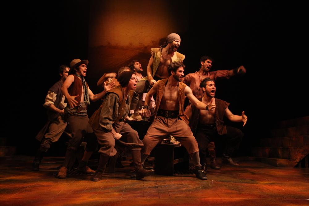 Man of La Mancha. Connecticut Repertory Theatre. Lighting design.