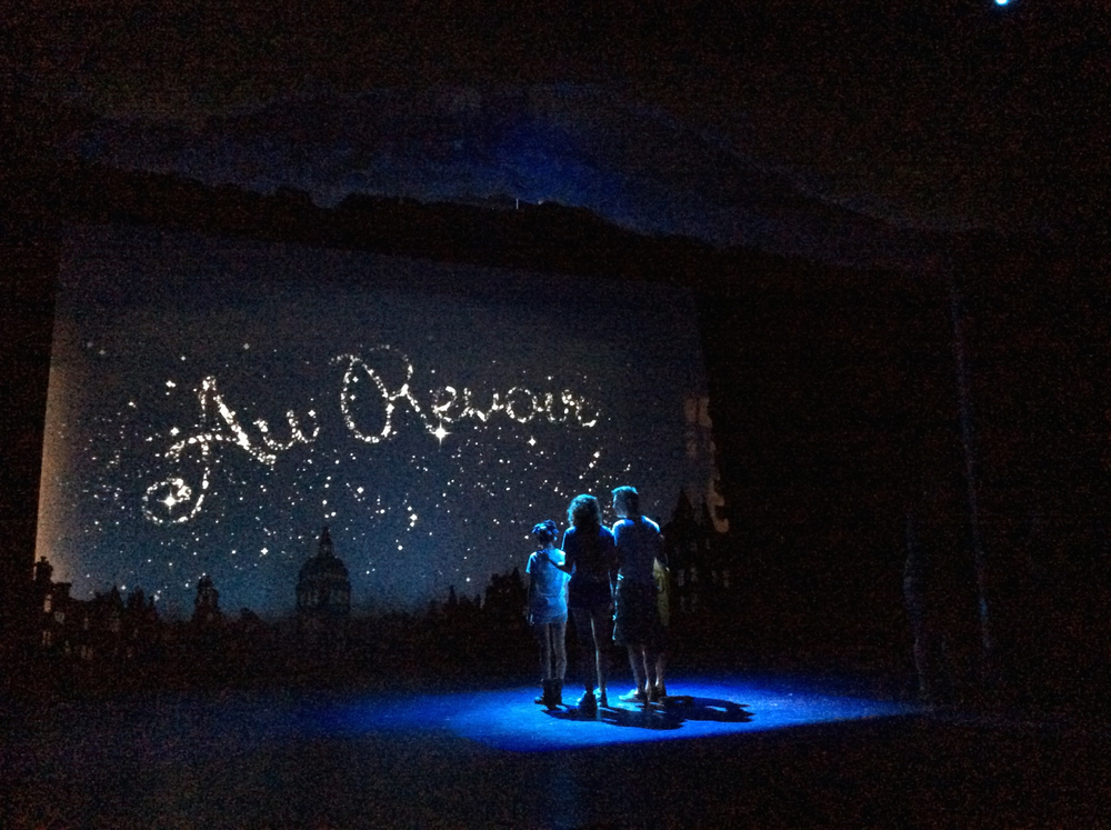 Mary Poppins, the Musical. The Ogunquit Playhouse. Projection design.