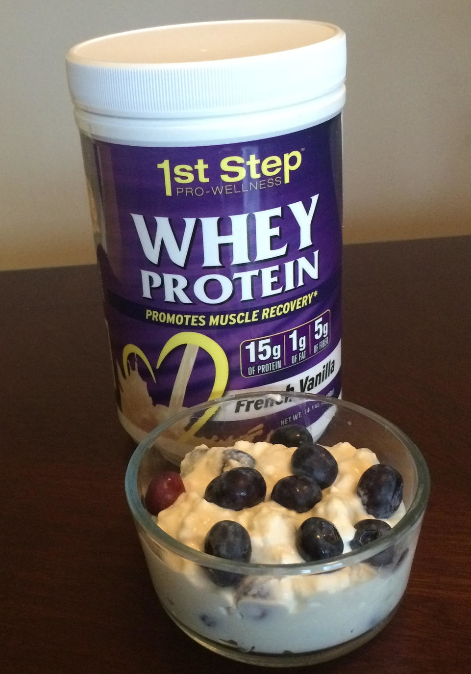 1st Step Pro-Wellness protein pudding