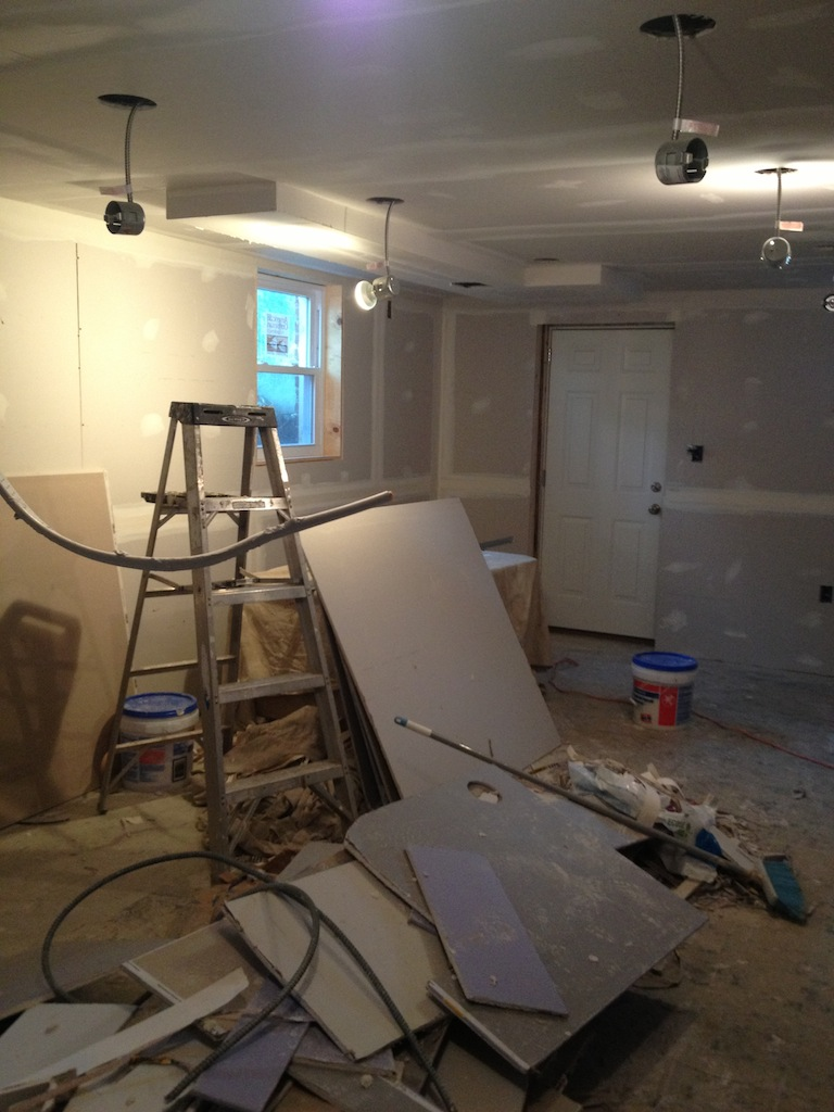New studio under construction