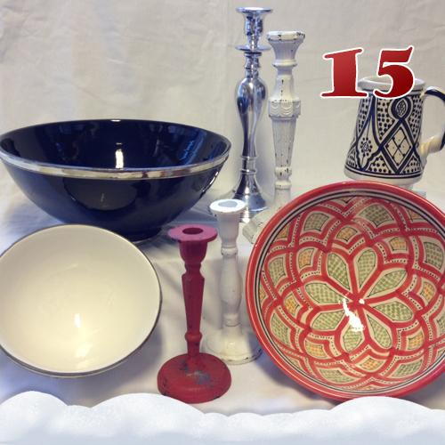 Marockansk keramik & ljusstakar
