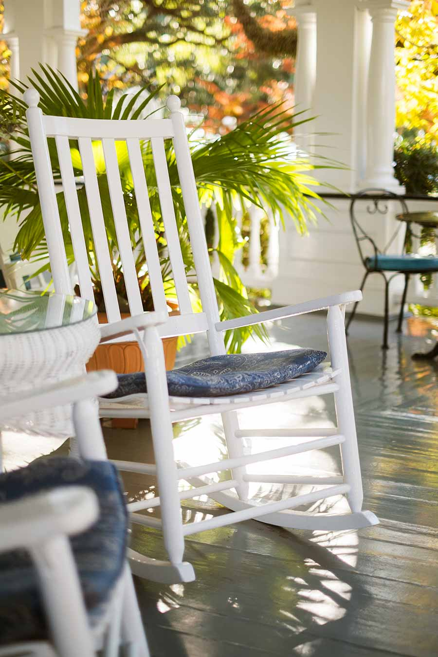 12 Front Porch Ideas For Houses That Need Some Southern Charm - We've curated a list of front porch ideas for houses that will add comfort, style, and, of course, the charm that is as distinctly southern as iced tea and homemade biscuits.