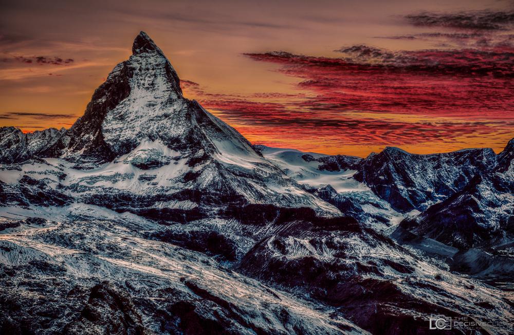 MatterhornSunset02