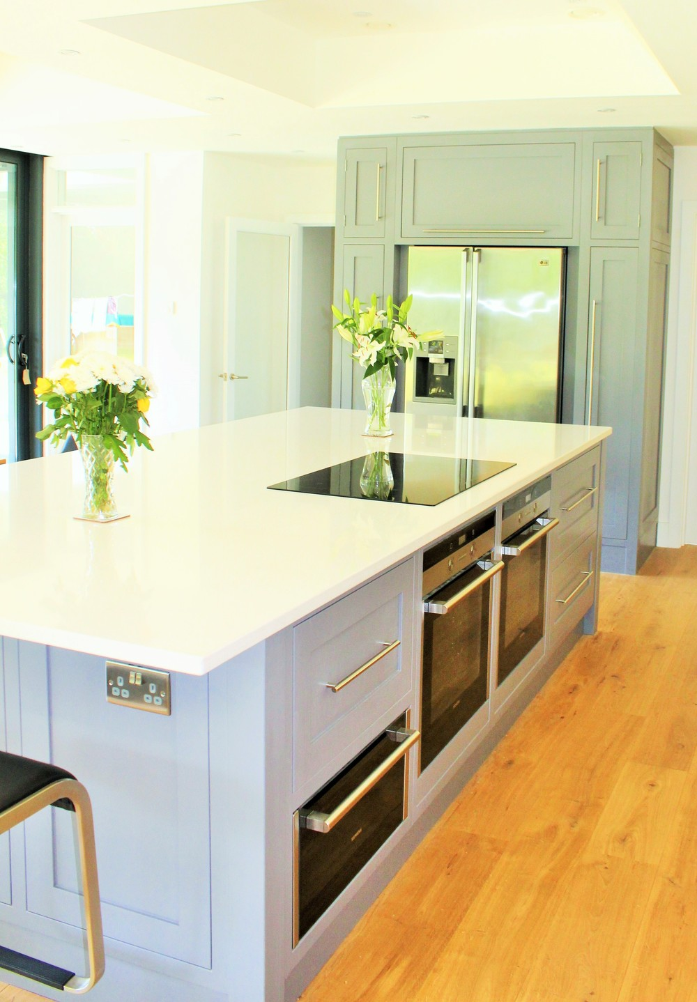 Glanton - an example of a custom-made paint colour for a painted kitchen.