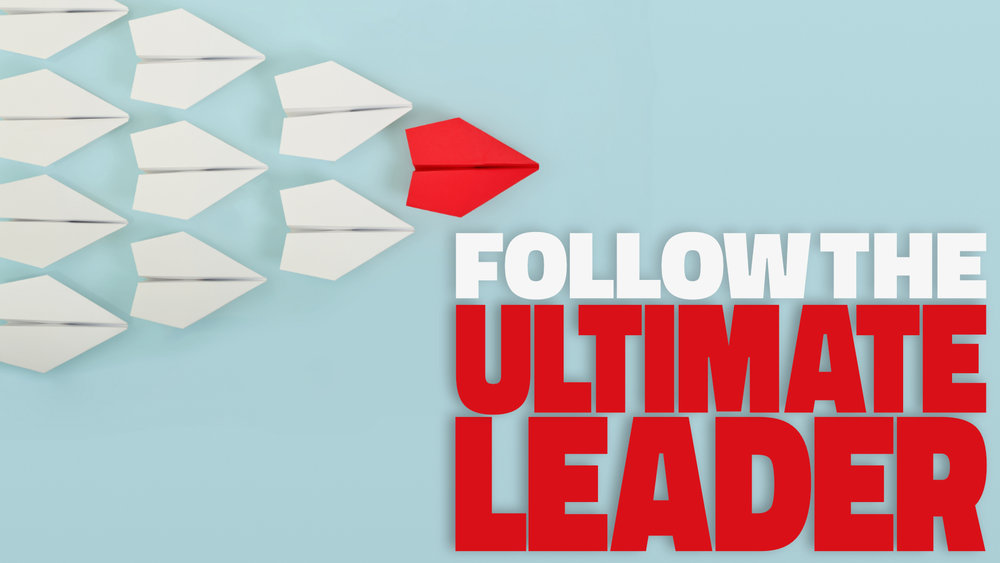 Follow the Ultimate Leader • March 25 - May 20, 2018
