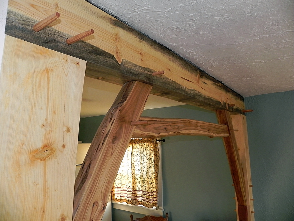 Timber Frame Wall Frame