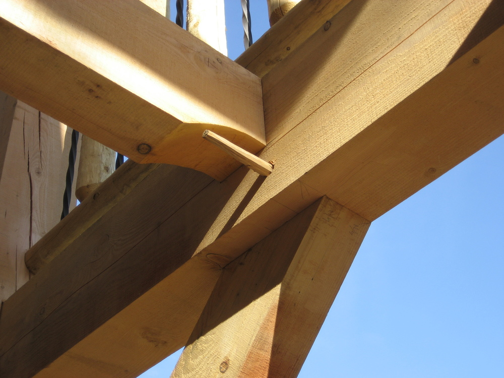 Pegged Mortise and Tenon Joinery