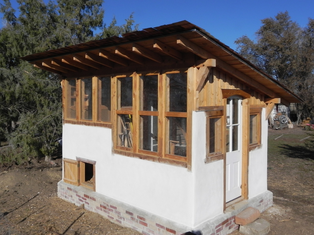 Timber Frame Chicken Coop