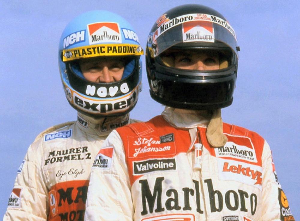 Stefan Johansson, Eje Elgh mantorp park f2 1981.jpg