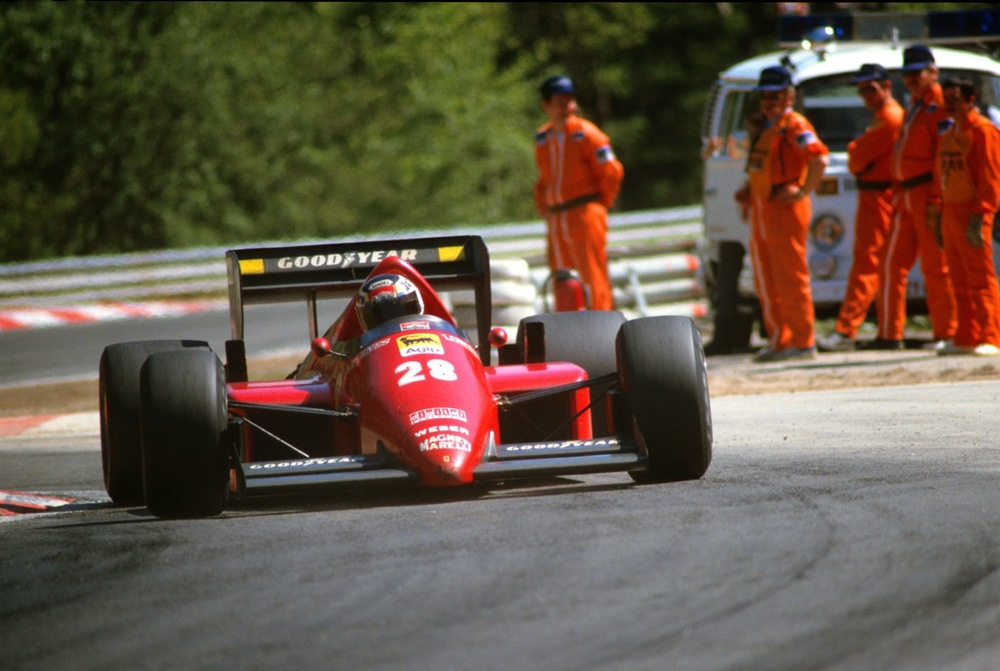 Stefan JOHANSSON(Ferrari-1986)Spa-2.jpg