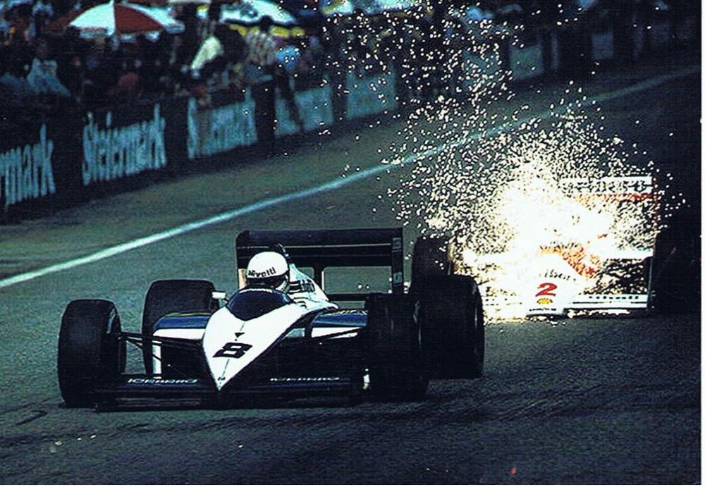 Stefan Johansson Andrea de Cesaris Austrian GP 1987.jpg