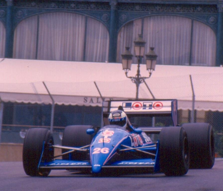stefan johansson ligier f1 Monaco 1988.jpg