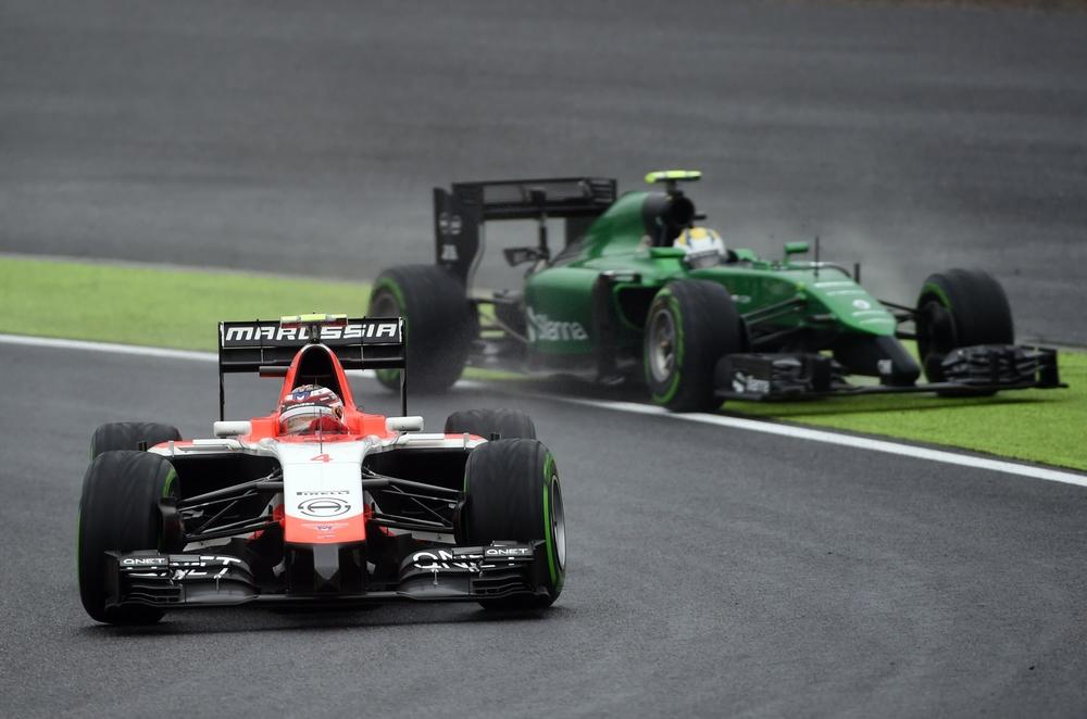 Marussia & Caterham F1 Cars