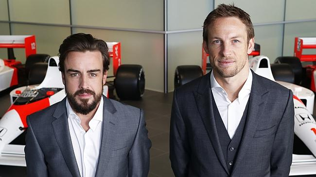 McLaren-F.Alonso-J.Button