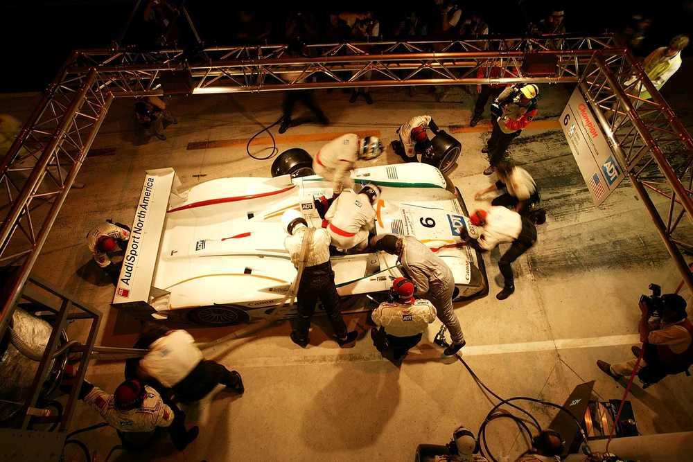 Stefan Johansson - Lehto - Audi Box - LM 2003