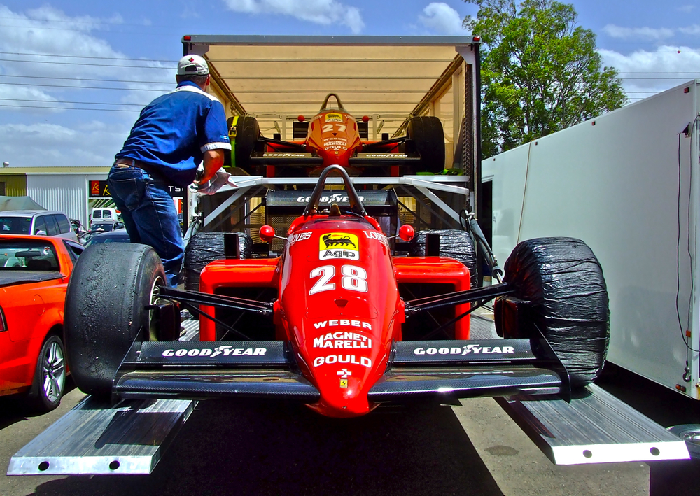 Stefan Johansson - F1 - Ferrari 1985