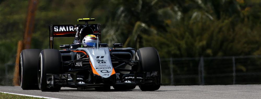 Checo Perez - Malayaisan GP - F1