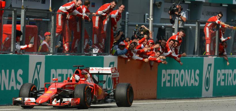 Ferrari win at Malaysian GP - F1