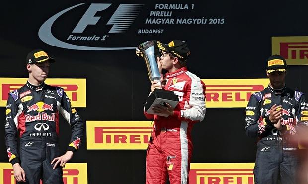 Sebastian Vettel - Hungarian GP 2015