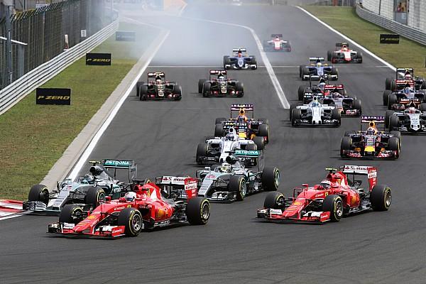 Hungarian GP 2015 - Start