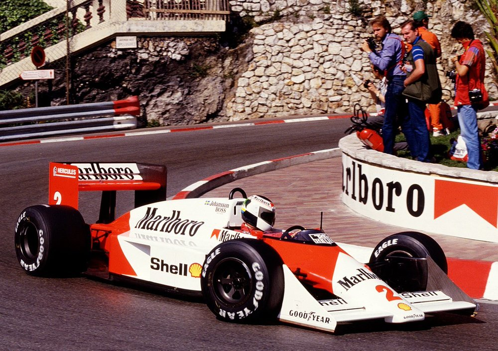 Stefan Johansson - McLaren F1 - MonacoGP - 1987