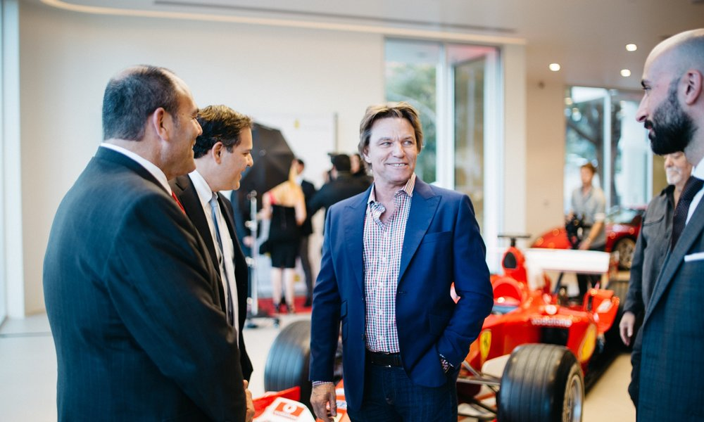 Ferrari Westlake Opening Party