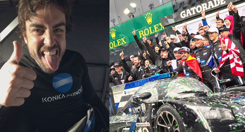 Photos via @fernandoalo_oficial