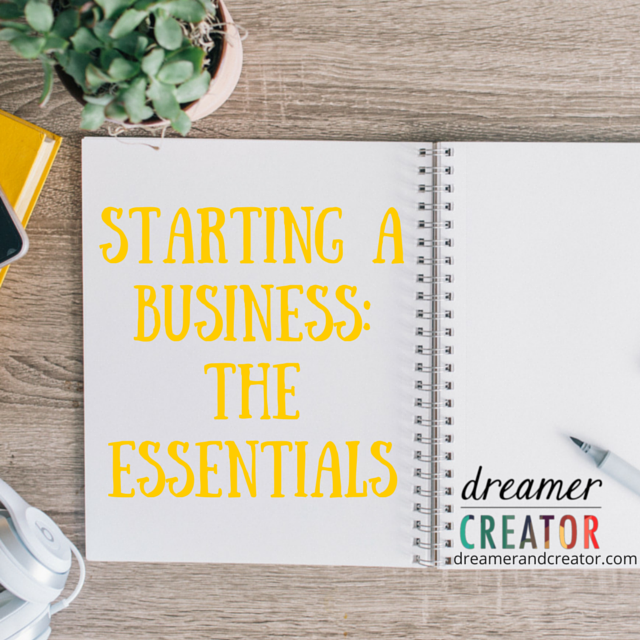 Starting-A-Business-The-Essentials