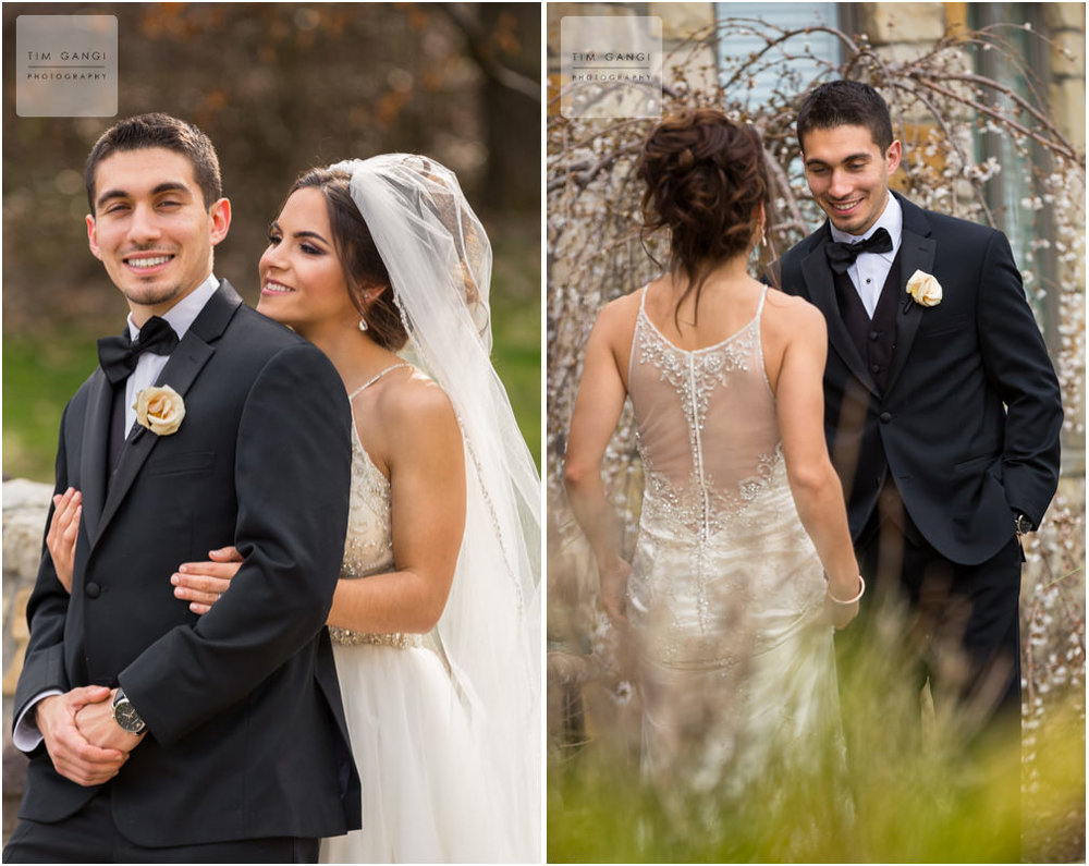 Kailey surprised Elias with a mini first look and revealed that her dress had a special twist.