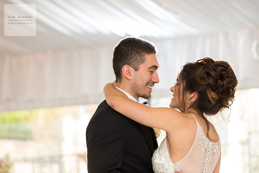 It's so sweet to see Kailey + Elias sharing a laugh during a special and personal first dance.