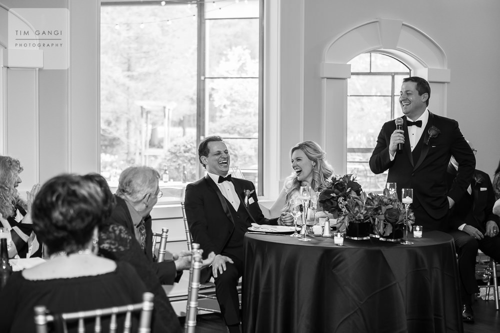 Yes this best man speech from Jake's brother was seriously funny!