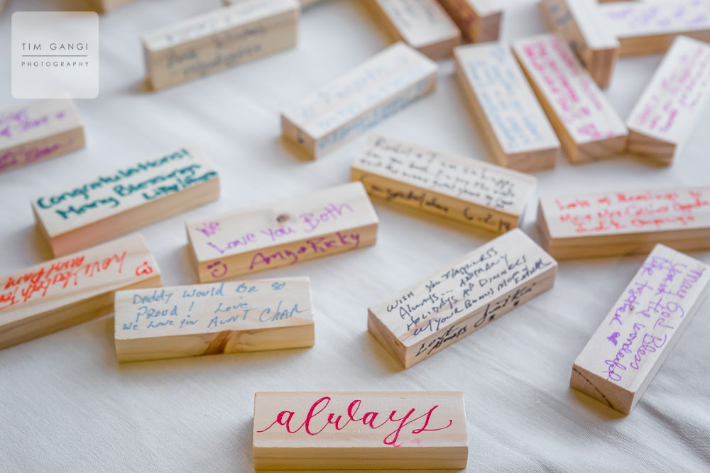 Such thoughtful details made Sherri + Collin's wedding so special and memorable.