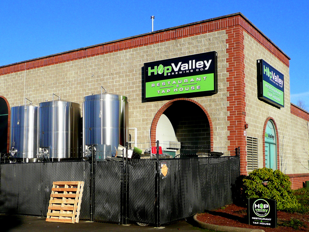 Hop Valley micro brewery