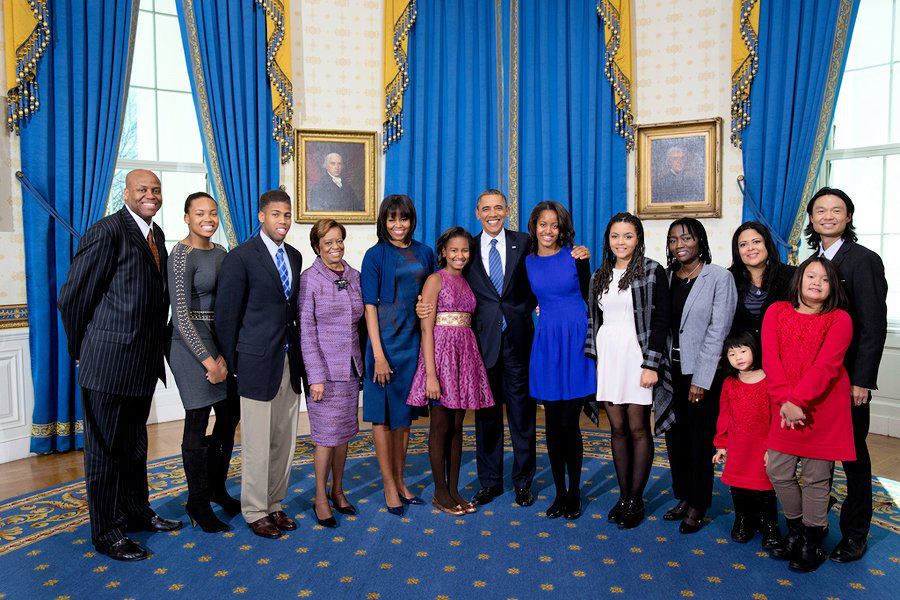 Obama family picture 2013 inauguration