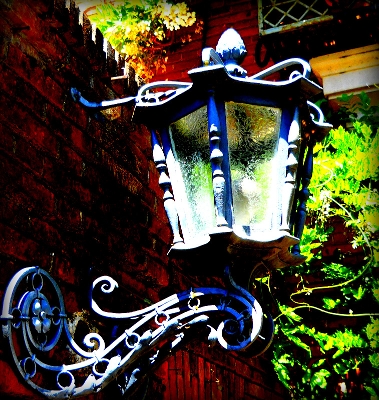 fioli wrought iron lamp