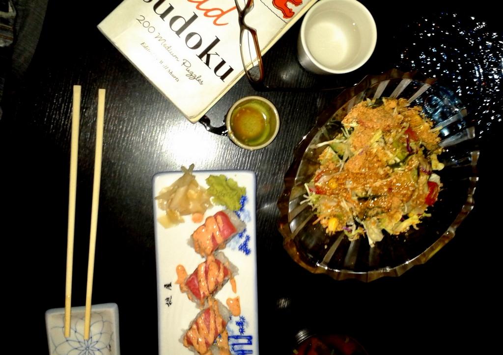 50pct off sushi bar
