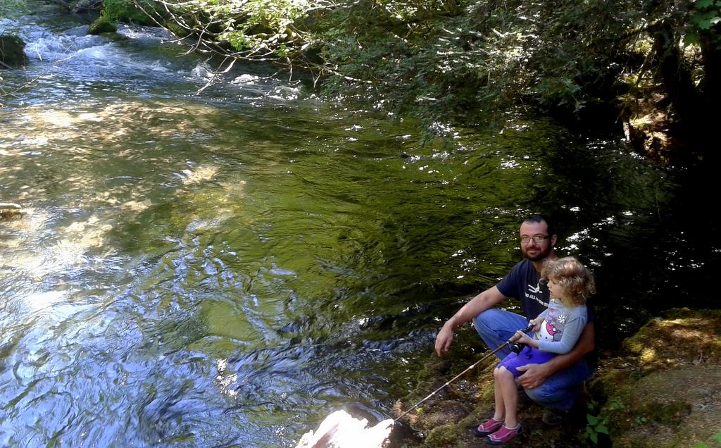 Fishing at Union Creek