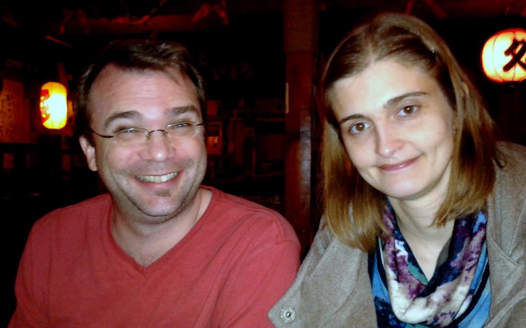 Greg and Monica