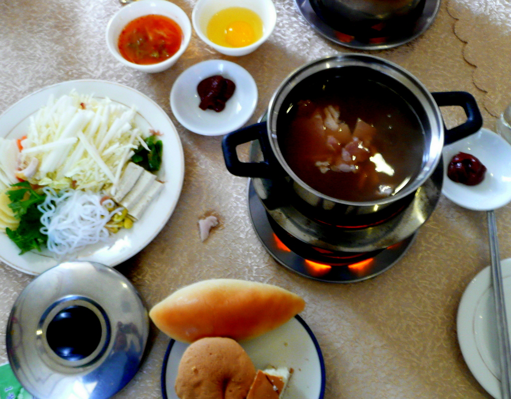Hot pot lunch