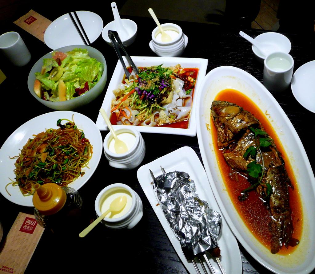 Mongolian dinner