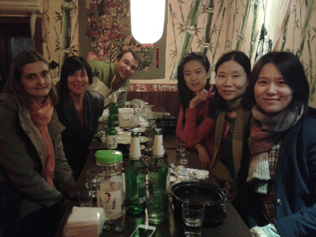 Monica, Chery, Greg, Shasha, Feng, Li