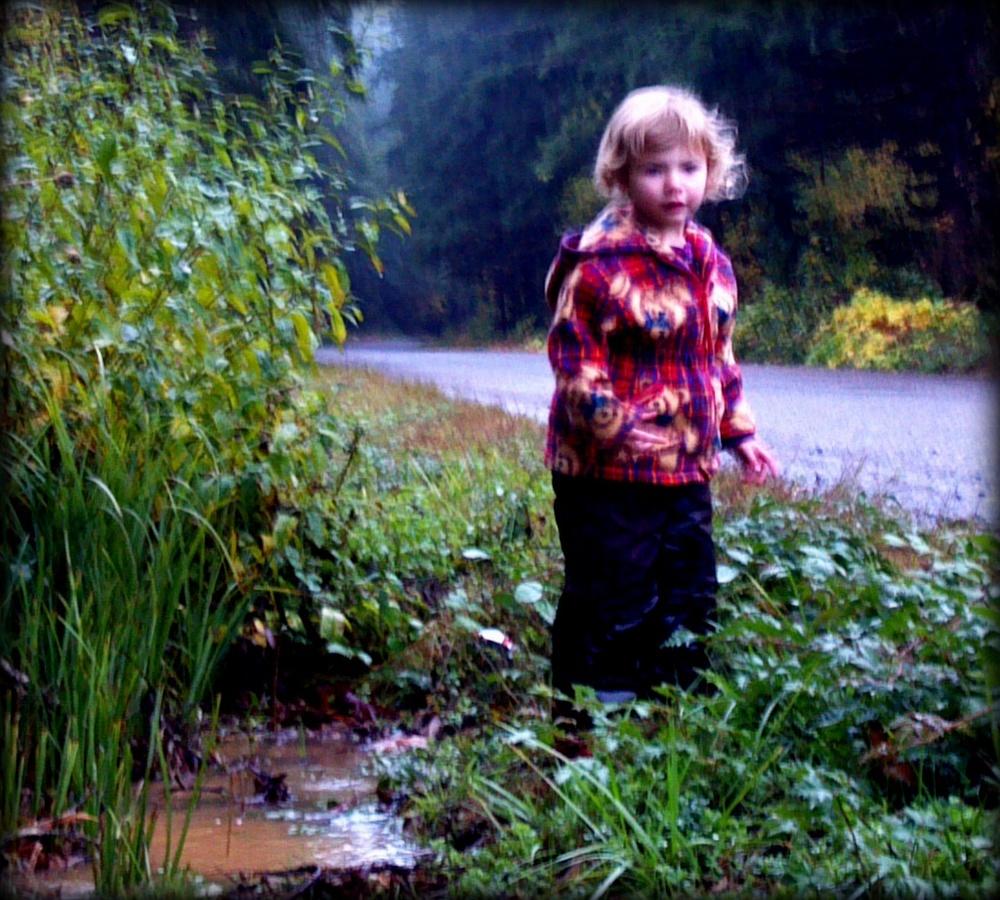 Maddie as Oregon stream fairy