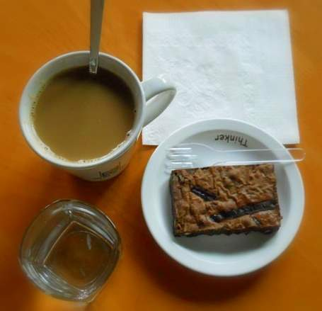 scolars kaffeiting americano he brownie
