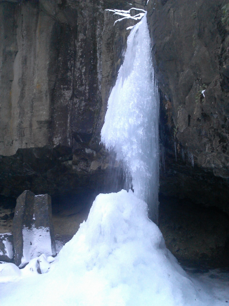 Frozen Hedge Creek Falls
